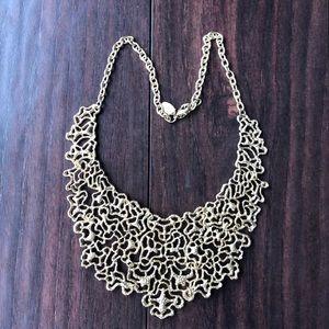 Jewelry - GOLD FILIGREE NECKLACE/CHOKER